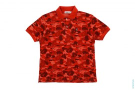 Fire Camo Polo by A Bathing Ape