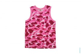 Color Camo Apehead Chest Hit Tank Top by A Bathing Ape
