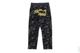 Color Camo Sweatpants by A Bathing Ape x Keith Harring