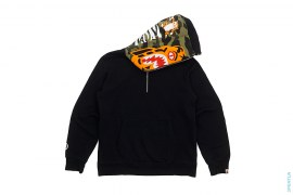 1st Camo Tiger Half Zip Pullover Hoodie by A Bathing Ape