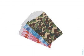 ABC Camo Stationary Envelop Set Coin Case by A Bathing Ape