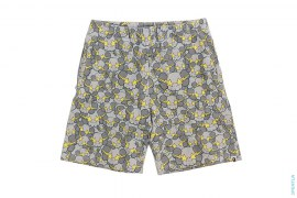 Sta Bolts Companion Camo Zip Pocket Sweatshorts by A Bathing Ape x Kaws