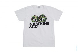 ABC Camo Heart Logo Tee by A Bathing Ape x Comme des Garcons