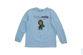 Baby Milo Long Sleeve Tee by A Bathing Ape
