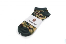 ABC Camo Jacquard Knit Ankle Socks by A Bathing Ape