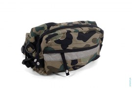 1st Bendy Camo Waist Bag Fanny Pack by A Bathing Ape x Kaws
