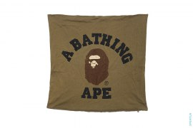 College Logo Large Pillow Cover by A Bathing Ape