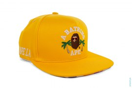 LA Exclusive LA ABC Camo College Logo Snapback by A Bathing Ape