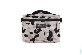 Embroidered Sta ABC Camo Accessory Case by A Bathing Ape