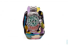 Member Only Amex Camo Bapex Watch by A Bathing Ape