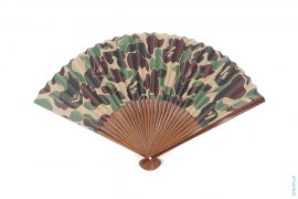 ABC Camo Folding Fan by A Bathing Ape