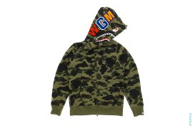 Ultimate 1st Camo WGM Shark Full Zip Hoodie by A Bathing Ape