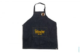 Chainstitch Denim Apron by A Bathing Ape
