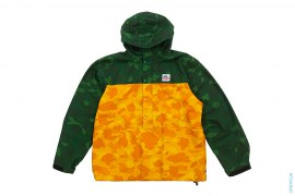 2 Tone Color Camo Anorak Windbreaker Jacket by A Bathing Ape