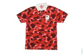 Colo Camo Rugby Polo Shirt by A Bathing Ape