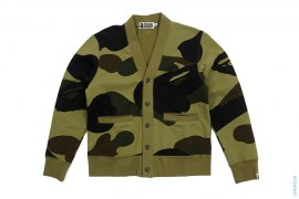 Zoom 1st Camo Sweat Cardigan by A Bathing Ape
