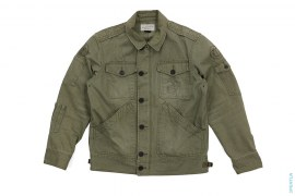 Distressed B40 Military Jacket by Neighborhood