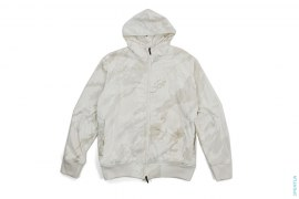 Bonsai Camo Reversible Terry Cloth Windbreaker Jacket by Maharishi