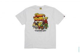 Street Fighter 2 All Star Milo Tee by A Bathing Ape x Capcom