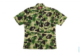 Zoom ABC Camo Aloha Short Sleeve Button-Up Shirt by A Bathing Ape