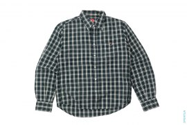 Apehead Pocket Plaid Button-Up Shirt by A Bathing Ape