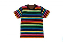 Border Rainbow Baby Milo Reversible Tee by A Bathing Ape