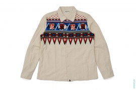 Native Button-Up Shirt Jacket by A Bathing Ape