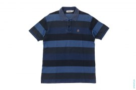 Color Camo Border Pique Polo Shirt by A Bathing Ape