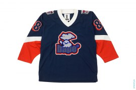 Mad Apehead 88 Hockey Jersey by A Bathing Ape