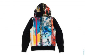Shark Full Zip Hoodie by A Bathing Ape x Futura