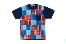 Apehead Patchwork Pocket Tee by A Bathing Ape