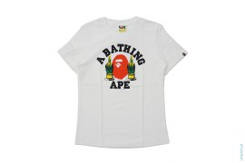 New Years College Logo Tee by A Bathing Ape