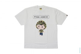 Pigg Junkie Capsule Tee by A Bathing Ape