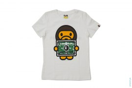 Bapemania Members Only Milo Bape Card Tee by A Bathing Ape