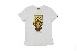 SpongeBob Riding Baby Milo Capsule Tee by A Bathing Ape x SpongeBob