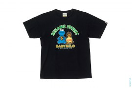 Cookie Monster Baby Milo Tee by A Bathing Ape x Sesame Street
