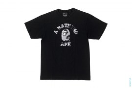 Bapexclusive 1st Camo College Logo Tee by A Bathing Ape