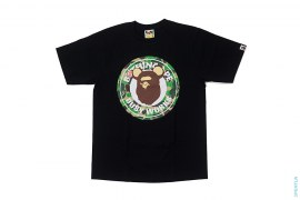 Be@rbrick Busy Works Logo Tee by A Bathing Ape x Medicom