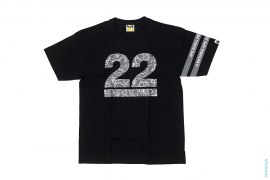 22nd Anniversary Border Sleeve Tee by A Bathing Ape