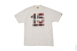15th Anniversary Bape Plaid Tee by A Bathing Ape
