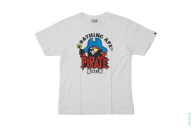 Pirate Store Pirate Apehead Logo Tee by A Bathing Ape
