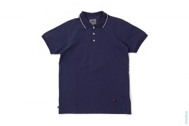 Ursus Bape Flag Logo Polo Shirt by A Bathing Ape