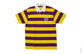 Baby Milo Face Logo Rugby Polo Shirt by A Bathing Ape