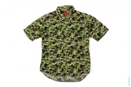 ABC Camo Short Sleeve Button-Up Shirt by A Bathing Ape
