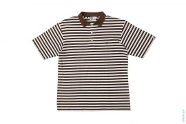 Baby Milo Border Polo by A Bathing Ape
