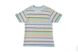 Rainbow Border Busy Works Reversible Tee by A Bathing Ape