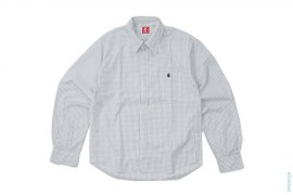 Grid Line Button-Up Shirt by A Bathing Ape
