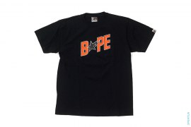 Raised BAPE Sta Logo ASNKA Tee by A Bathing Ape