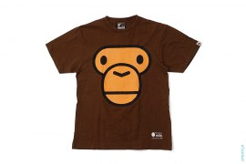 Baby Milo Face Tee by A Bathing Ape