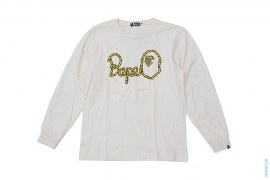 Rope Logo Long Sleeve Tee by A Bathing Ape